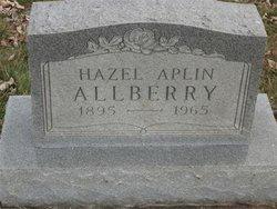 Hazel <i>Aplin</i> Allberry
