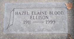 Hazel Elaine <i>Blood</i> Ellison