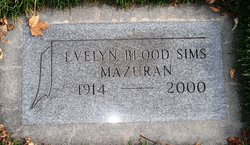 Evelyn <i>Blood</i> Mazuran