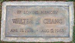 Walter Julius Chang