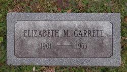 Elizabeth M Garrett