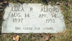 Lula Emma <i>Pruitt</i> Alford