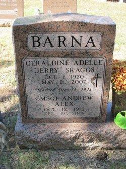 Geraldine Jerry <i>Skaggs</i> Barna