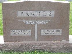 Edna <i>Webb</i> Bradds