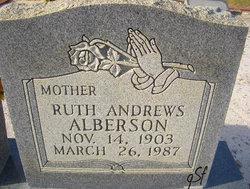 Ruth <i>Andrews</i> Alberson