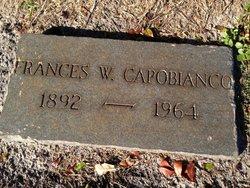 Frances E <i>Weatherup</i> Capobianco