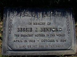 Bessie J <i>Fields</i> Benford