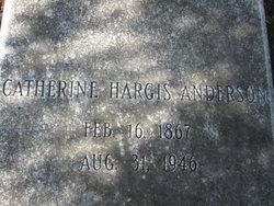 Catherine <i>Hargis</i> Anderson