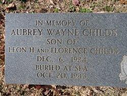 Aubrey Wayne Childs
