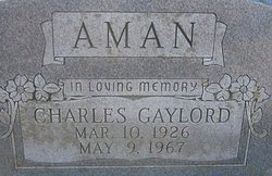 Charles Gaylord Aman