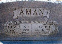 Effie Lillian <i>Beamaan</i> Aman