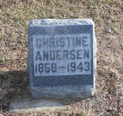 Christine <i>Gorham</i> Anderson