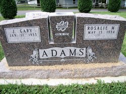 Corp James Gary Adams