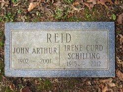 Irene M <i>Curd</i> Reid