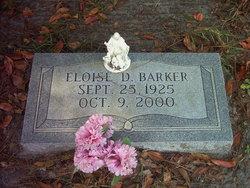 Madge Eloise Eloise <i>Dickey</i> Barker