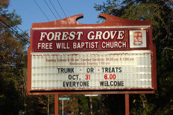 Forest Grove Free Will Baptist Church Cemetery
