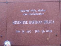 Ernestine <i>Hartman</i> De Luca