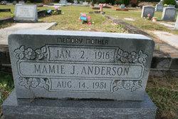 Mamie J Anderson