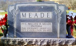 PFC William Russell Meade