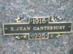 E Jean Canterbury
