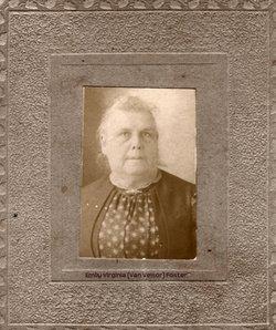 Emily Virginia <i>Van Velsor</i> Foster