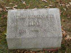 Bessie <i>Klingensmith</i> Kline