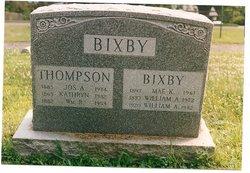 William Addison Bill Bixby, Sr