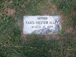 Faris Hester <i>Atkinson</i> Alley