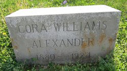 Cora <i>Williams</i> Alexander