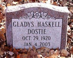 Gladys <i>Haskell</i> Dostie