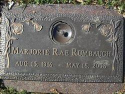Marjorie Rae Rumbaugh