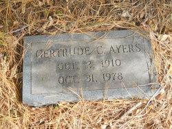 Sarah Gertrude <i>Collins</i> Ayers