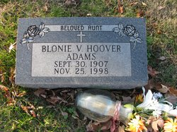 Blonie V. <i>Hoover</i> Adams