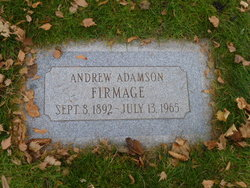 Andrew Adamson Firmage