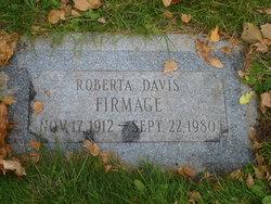 Roberta <i>Davis</i> Firmage