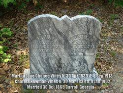 Martha Jane <i>Chance</i> Vines