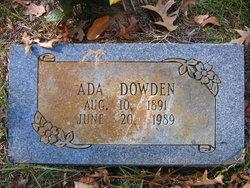 Ada <i>Booty</i> Dowden