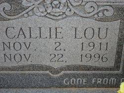 Callie Lou <i>Henderson</i> Harris