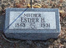 Esther H <i>Thompson</i> Bergman