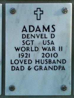 Sgt Denvel Dale Adams