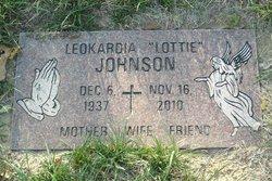 Leokardia Lottie Johnson