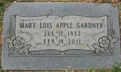 Mary Lois <i>Apple</i> Gardner