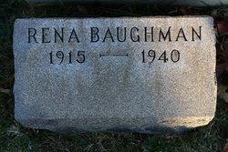 Rena Pearl <i>Karcher</i> Baughman