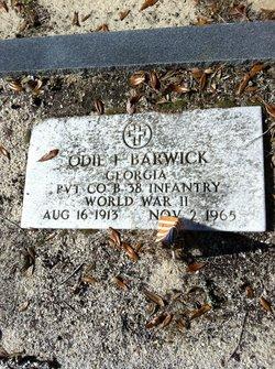 Odie Franklin Barwick
