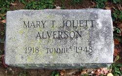 Mary Tommie <i>Jouett</i> Alverson