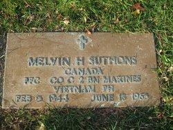 PFC Melvin Harold Suthons