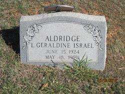 L. Geraldine <i>Israel</i> Aldridge