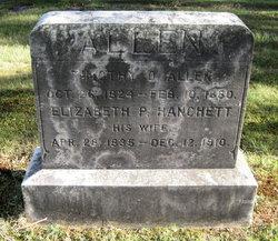 Elizabeth P. <i>Hanchett</i> Allen