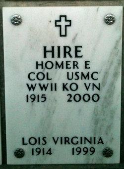 Col Homer Edward Hire