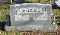 Louise <i>brack</i> Adams